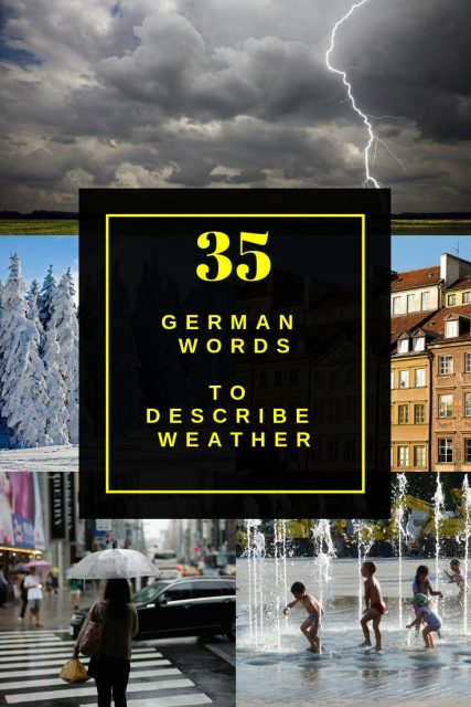 German vocabulary weather download