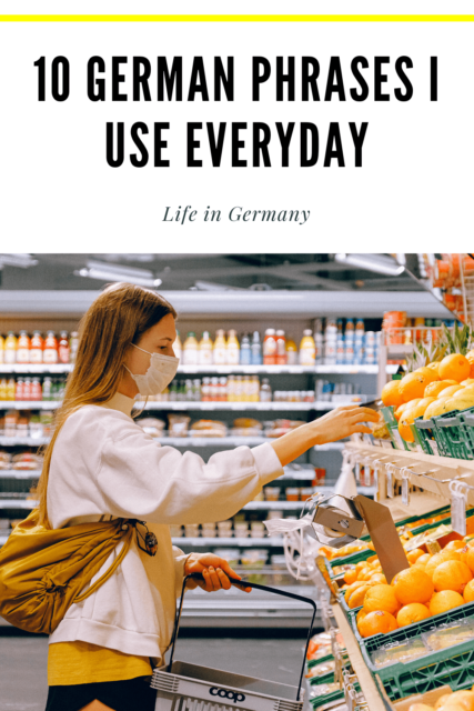 German phrases for everyday life in Germany