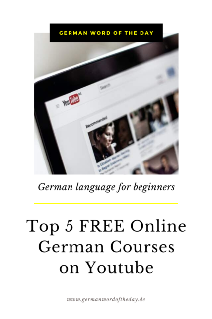 BEST FREE ONLINE GERMAN courses