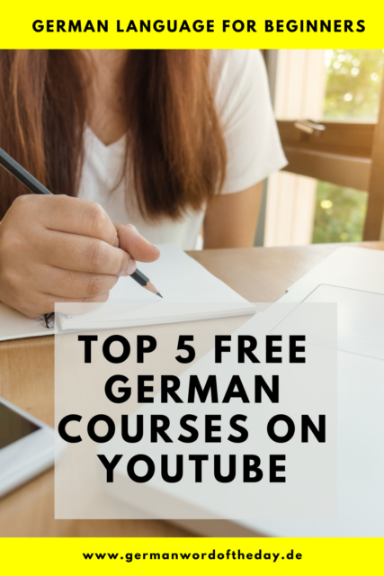 free german courses for beginners
